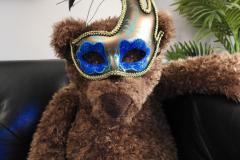 Teddy Bear Wears a Mask
