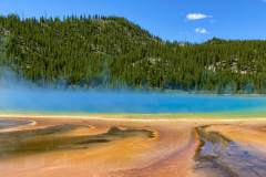Yellowstone Grand Prismatic Spring Colors
