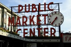 Seattle Public Market Sign