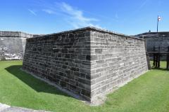 Castillo de San Marcos Fort Corner
