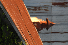 Rusted Old Barn Roof