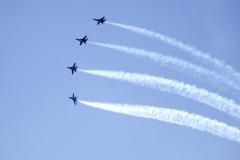 Flying Blue Angels