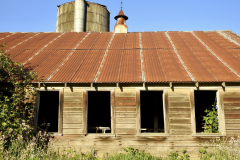 Rusted Old Barn Side