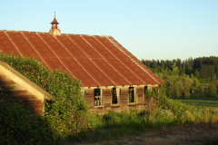 Rusted Old Barn View