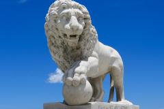 St Augustine Lion Statue
