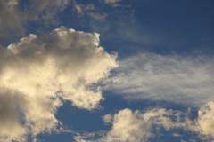The Lion Cloud Breathes