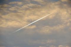 Jet Streak in Clouds