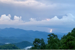Lightning in North Carolina Mountains