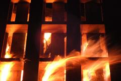 Building Fire - Vertical