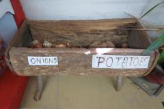 Old Wooden Food Bin