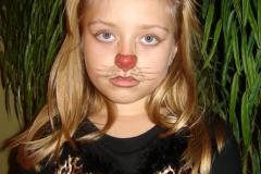 Unhappy Feline in Cat Costume