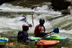 Kayakers Watch in Bryson City
