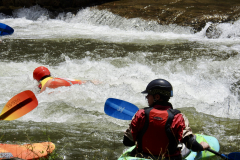 Kayakers Watch in Bryson City 2