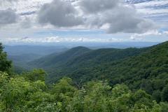 North Carolina Mountains View