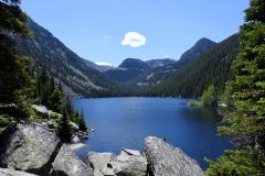 Mountain Lake Tranquility