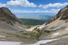 Sacagawea Peak Saddle Valley View Montana