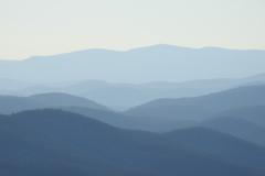 Foggy Blue Ridge Mountains 2