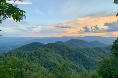 North Carolina Mountain Sunset
