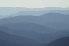 Foggy Blue Ridge Mountains 1