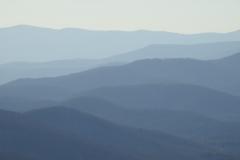 Foggy Blue Ridge Mountains 3