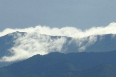 Clouds Roll over Montana Mountains