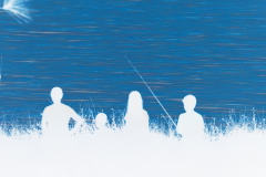 Family Fishing - Negative