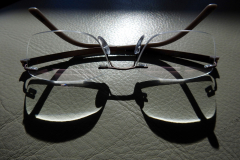 Reading Glasses Reflection