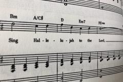 Sing Hallelujah Music Sheet