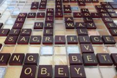 Scrabble Words Obey