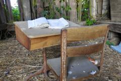 School Desk in Old Barn 2
