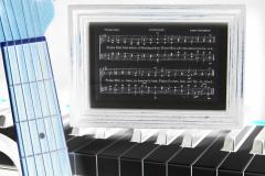 Doxology on Piano Keys n Guitar - Negative