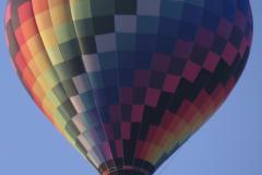 Checkered Hot Air Balloon