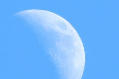 Half Blue Moon