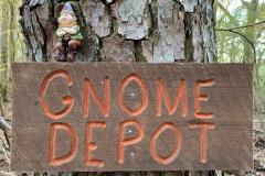 Gnome Depot Sign