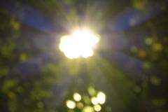 Blurred Sun Rays
