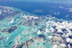 Islands From the Sky Blue Waters