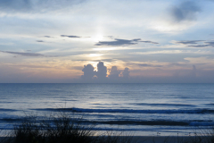 Four Clouds on the Beach
