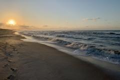 Sunrise Beach Waves Cape San Blas
