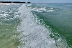 Wave Crashes Left