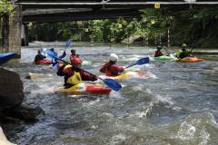 Kayak Class in Bryson City