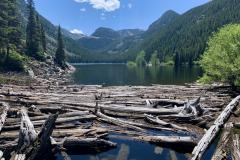 Montana Mountain Lake Dam