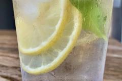 Glass of Lemonade Close-up
