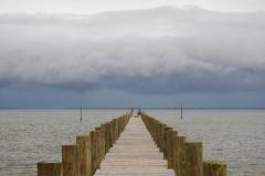 Storm Approaches Pier