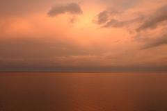 Orange Glow at Sunrise
