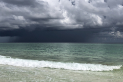 Storm Clouds over Green Waters Beach